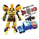 Игровой набор трансформеров 4096 с аксессуарами (2 робота в наборе), фото 2