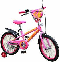 Двоколісний дитячий велосипед 14 дюймів Like2bike Sprint 191419 Рожевий