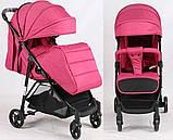 Дитяча прогулянкова коляска Bambi M 4249 Pink, фото 2