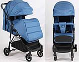 Детская прогулочная коляска Bambi M 4249 Blue, фото 2