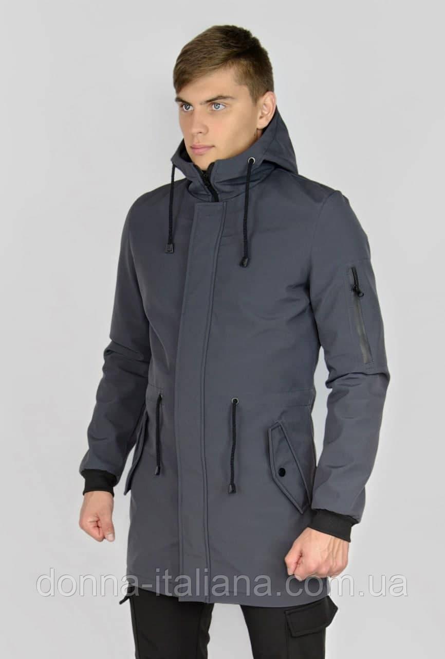 Куртка Intruder Softshell V2.0 серая ХХL (1604481690/4 )