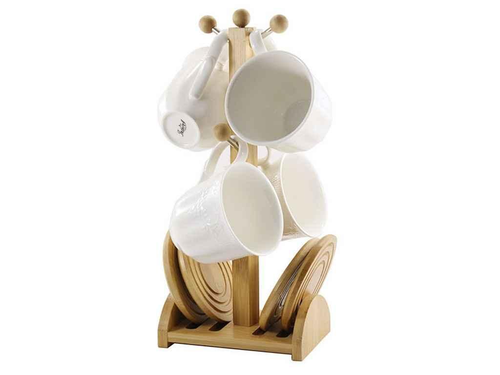 Сервиз чайный Interos 8 предметов на стойке (PJ03394)