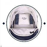 Детская игрушечная классическая коляска для кукол и пупсов с зонтиком, сумкой и корзиной для игрушек 80237, фото 2