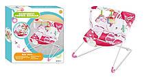 Дитячий шезлонг-качалка 432-2 (0-15 кг)