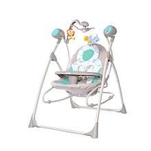 Музична колиска-гойдалка CARRELLO Nanny CRL-0005 Azure Beige