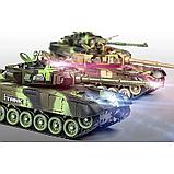 """Игровой набор танковый бой """"Мир танков"""" на радиоуправлении М 5525 (9993-2Р), фото 3"""