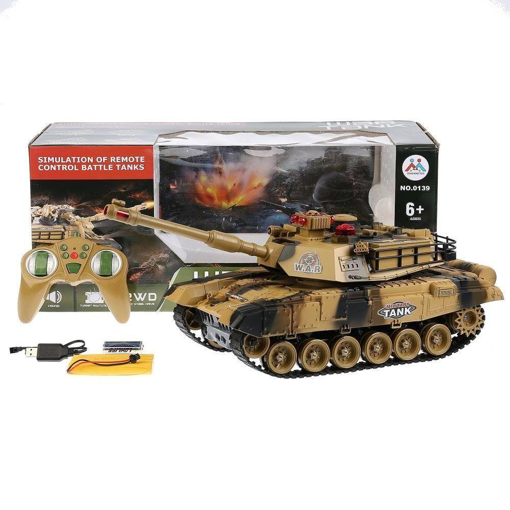 Дитячий танк на радіокеруванні 0139 Tank War (2 кольори)