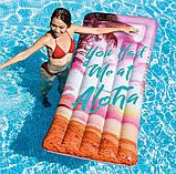 Пляжний надувний матрац - пліт з підголовником Intex 58772 EU «Натхнення», 178*84 см, 3 види, фото 3