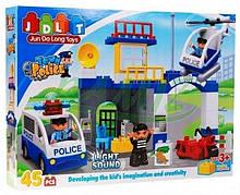"""Дитячий конструктор """"Поліцейський відділок"""" JDLT 5133 45 деталей"""