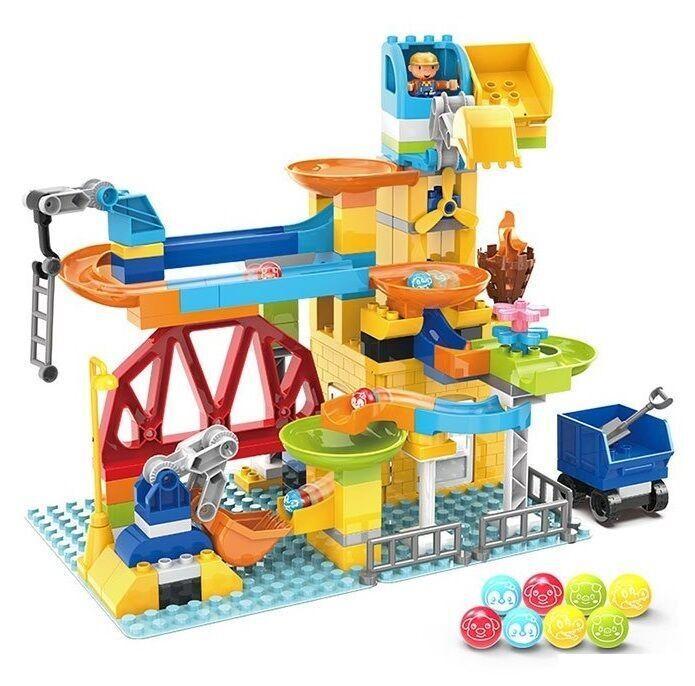 Дитячий конструктор Парк атракціонів 2588 В (128 деталей)