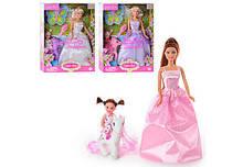 Кукла Defa с доченькой 8077 в нарядных платьях