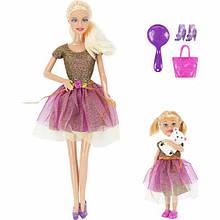 Лялька DEFA 8304 з донькою (2 види)