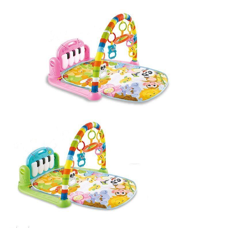 Детский развивающий музыкальный коврик-пианино 696-R21 / R22 (2 вида)