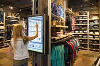 Интерактивные сенсорные экраны и терминалы для торгового зала. Дополнительный канал продаж