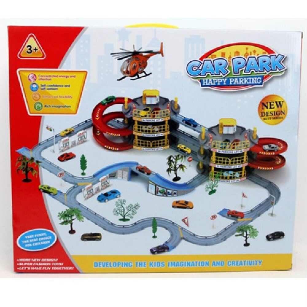 Дитячий ігровий набір Гараж T328-F