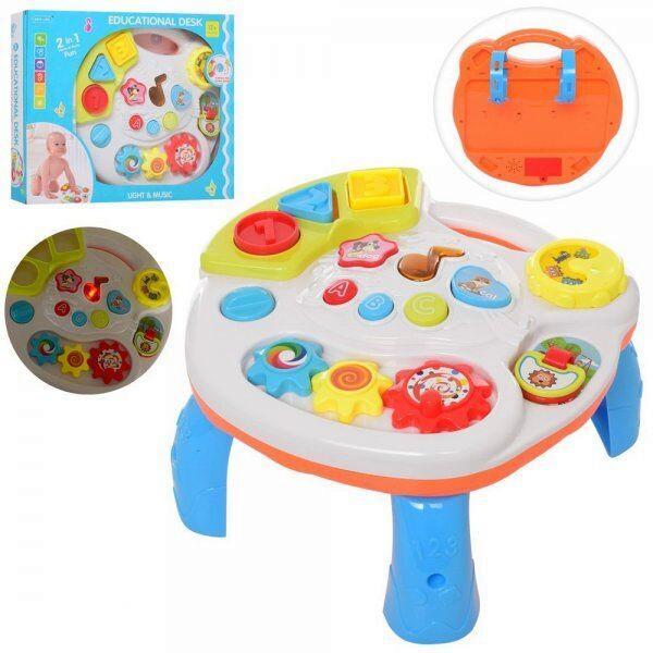 Ігровий розвиваючий центр-столик 2в1 Play learn fun 3901