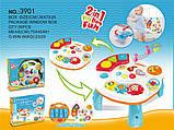 Ігровий розвиваючий центр-столик 2в1 Play learn fun 3901, фото 2