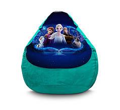 "Кресло мешок ""Frozen. Elsa and fiends"" Флок"