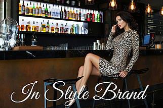 Леопардовое платье, фото 3