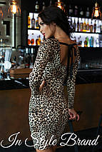 Леопардовое платье, фото 2