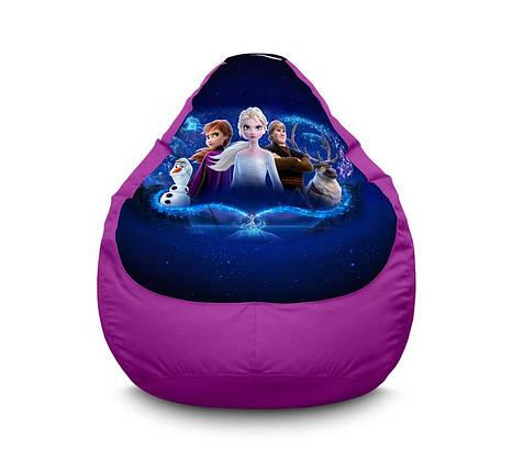 "Кресло мешок ""Frozen. Elsa and fiends"" Оксфорд, фото 2"
