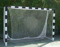 Ворота мини футбольные 3000х2000 (разборные) с полосами