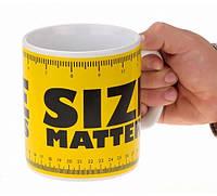 "Кружка - гигант ""Size matters"""