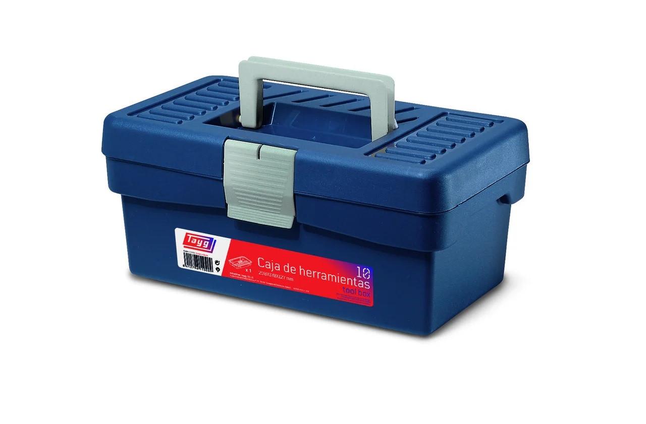 Ящик Tayg Box 10 Caja htas 29x17x12,7 см для инструментов+вкладка пластиковый синий (110009)