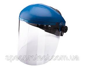 Щиток защитный НБТ Vision (высота линзы 18,5 см, толщина 3,0 мм) с наголовником от маски Хамелеон