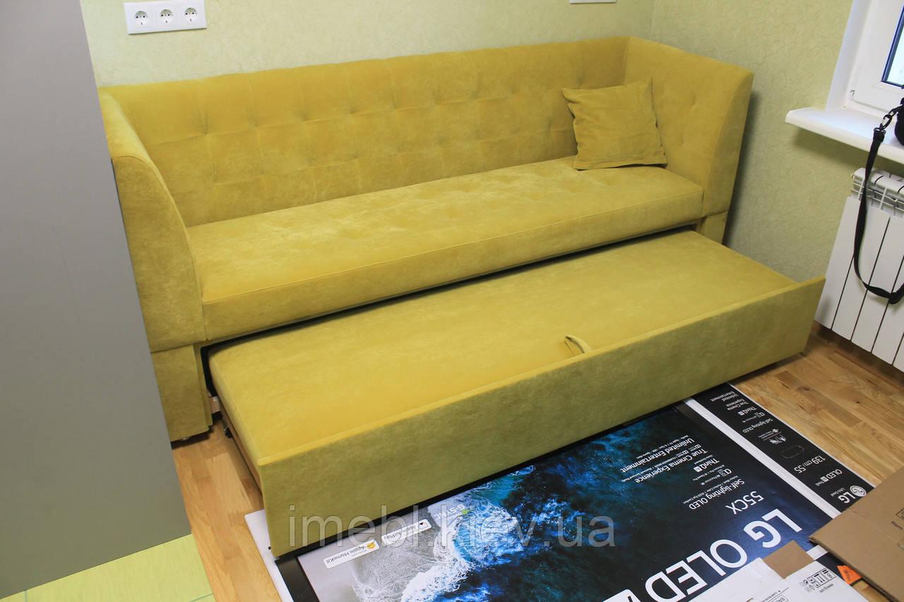 Кухонный диван со спальным местом (Салатовый)