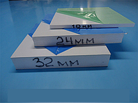 Сендвіч панель 32 мм двухсторон 1500х3000 (0.55 мм ПВХ покриття з обох сторін) Порізка, післяплата, ПДВ