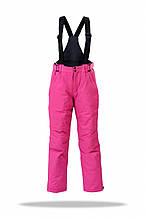 Гірськолижні штани дитячі рожеві Freever