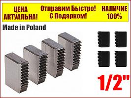 Резцы для клуппов 1/2'' (набор из 4 штук) Yato YT-2912
