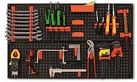 Гаражная полка, настенный органайзер для инструментов 80x40 см / MAMMOOTH