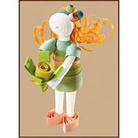 КВ-001 Девочка-весна. Чарівна Мить. Набор для квиллинга