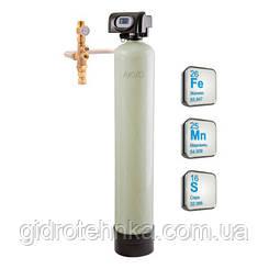 Фильтр обезжелезивания воды с удалением марганца и сероводорода OXI-GEN 1665