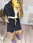 Женские велюровые шорты, фото 5