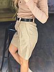 Женские шорты на высокой посадке, фото 3