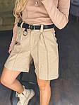 Женские шорты на высокой посадке, фото 5