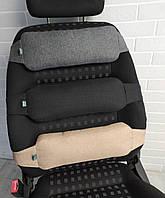 Ортопедическая подушка под поясницу EKKOSEAT на автомобильное и офисное кресло