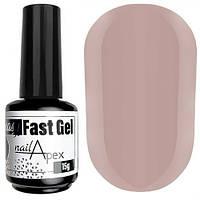 Nailapex Easy Fast Gel № 04 - жидкий гель (плотная пастель), 15 мл