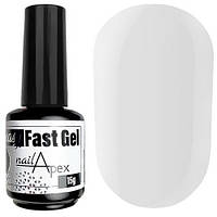 Nailapex Easy Fast Gel № 01 Clear - жидкий гель (прозрачный), 15 мл
