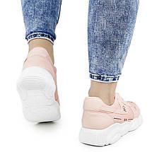 Женские кроссовки Dual ILA Fashion розовые весна-осень 37 р. - 24 см (1341459865), фото 2
