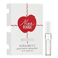 Nina Ricci Nina Rouge Туалетна вода (пробник) 1.5ml (3137370350521)