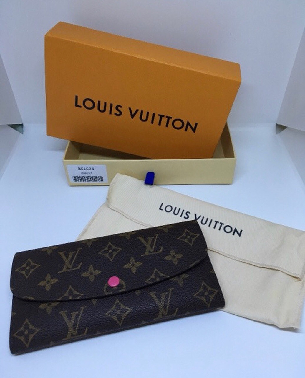 Жіночий коричневий Клатч Louis Vuitton