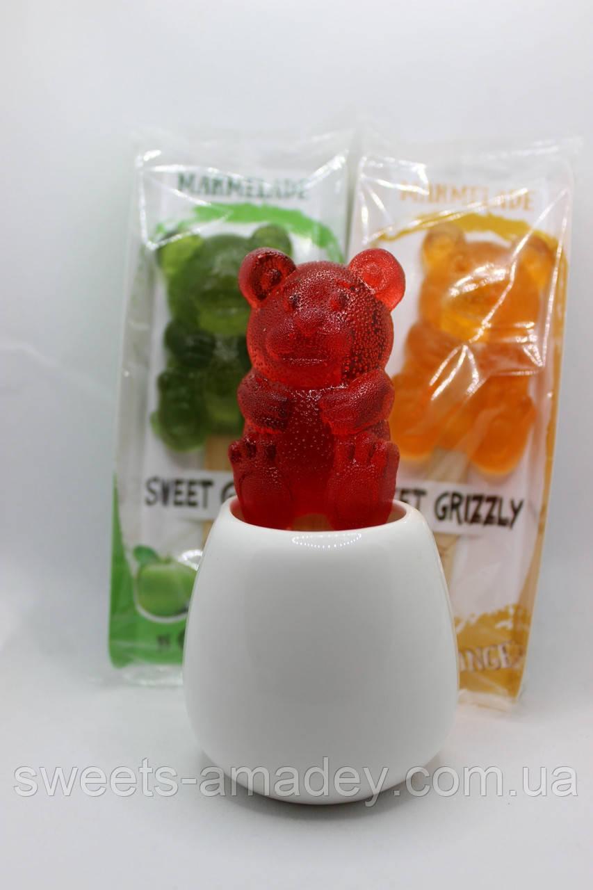 Мишки на палочке (натуральный мармелад) (35 грамм)