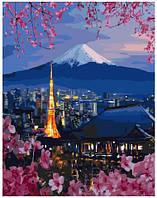 Картина по номерам 40*50 см Путешествие по Японии