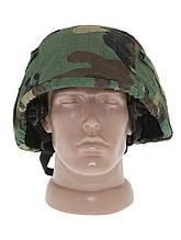 Чохол для шолома (кавер)FRITZ MIL-TEC PRO США Woodland 16671520