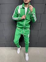 Чоловічий спортивний костюм 2Y Premium TK-2005 green
