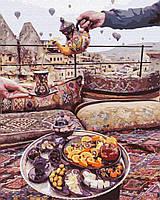 Картина по номерам 40*50 см Турецкий кофе